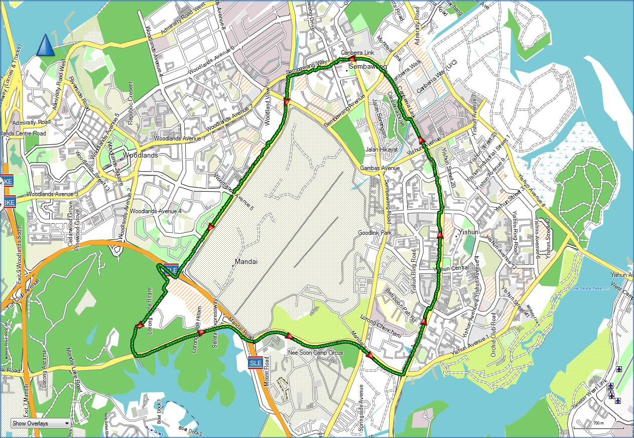 Route Training I